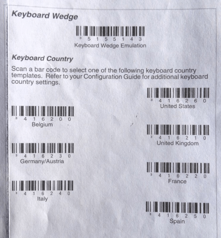 Set up your barcode scanner — Odoo Business 0 1 documentation